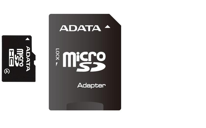 ADATA AUSDH8GCL4-RA1+ADAPTER memóriakártya