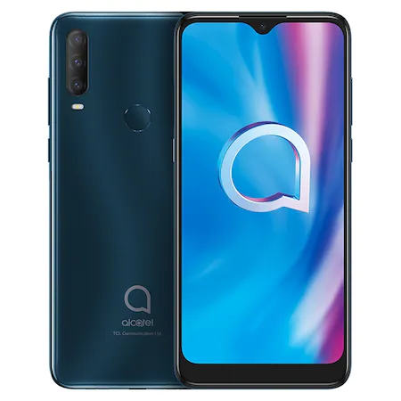 Alcatel 1S 2020 DS 3/32, AGATE GREEN DOMINO mobiltelefon