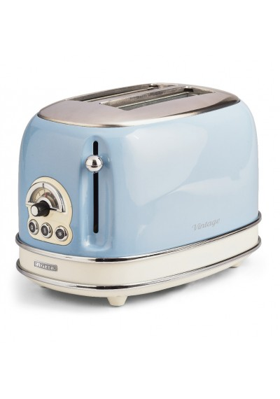 Ariete 155.BL Vintage kenyérpirító, pasztell kék