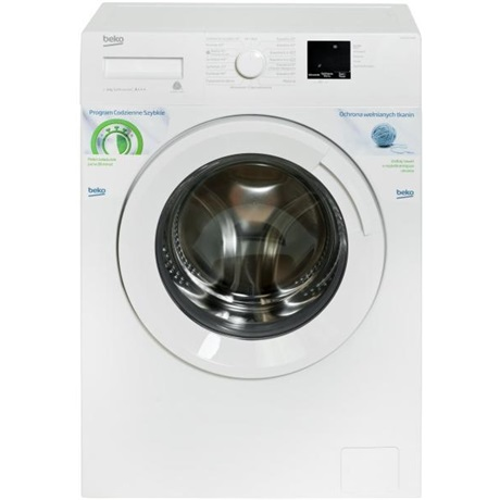 Beko WUE6511XWW elöltöltős mosógép