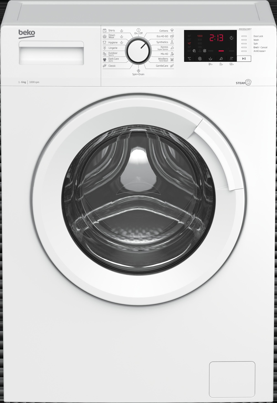 Beko WUE6512XWST elöltöltős mosógép