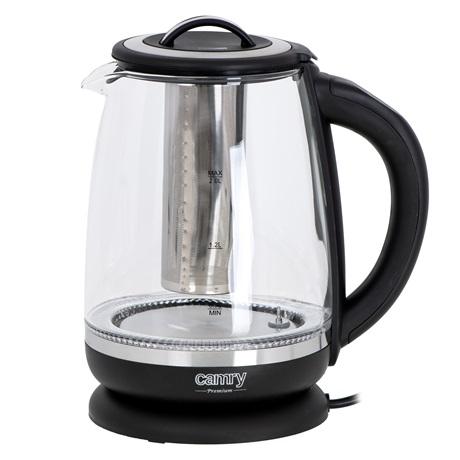 Camry CR1290 vízforraló tea infuzerrel