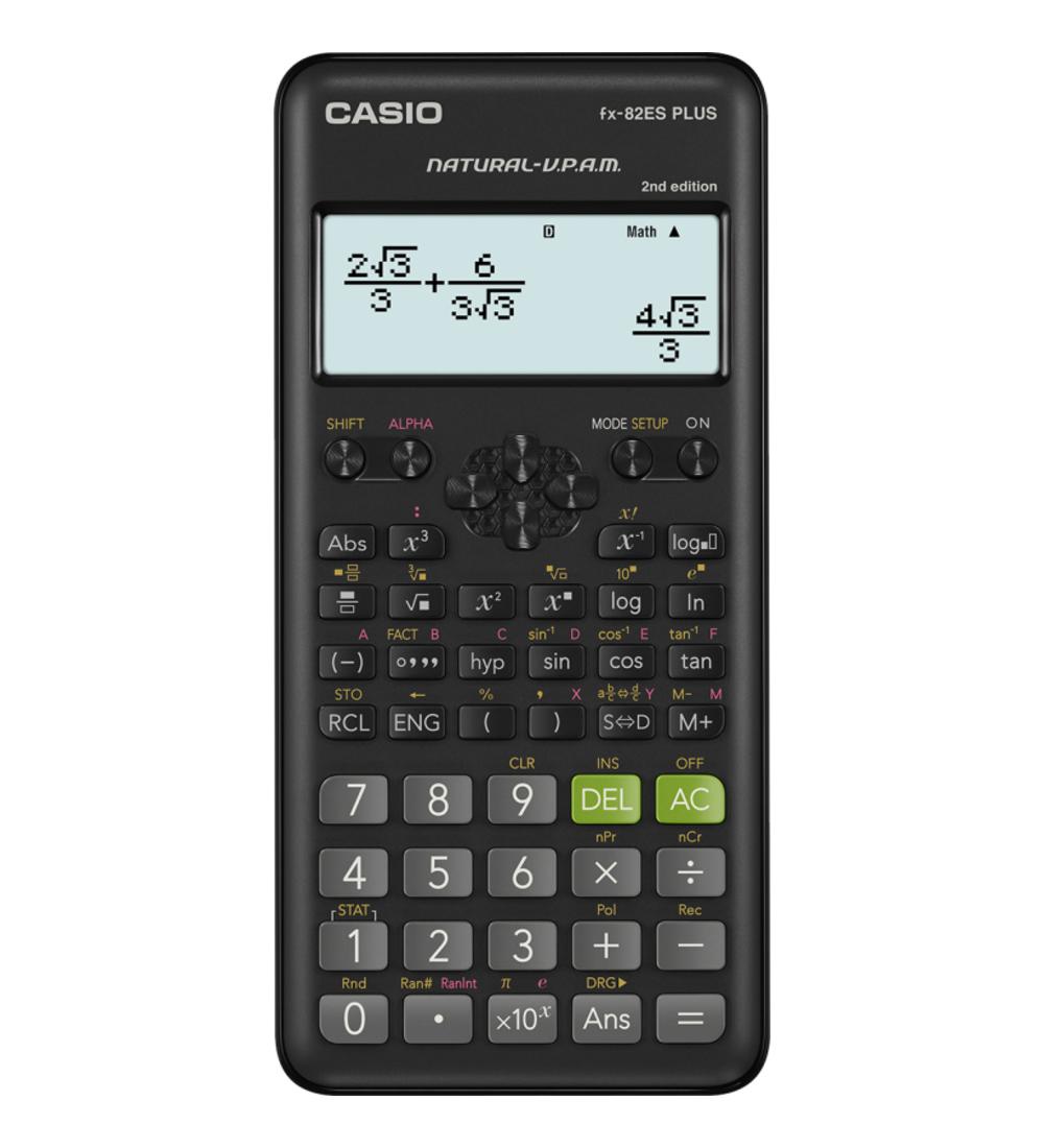 Casio FX 82 ES Plus 2 tudományos számológép