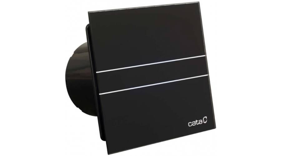 Cata E-100 GT BK fekete szellőztető ventilátor