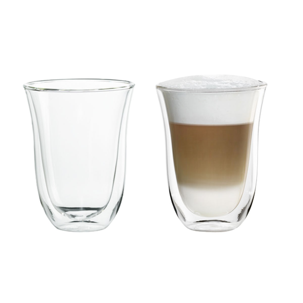 Delonghi 5513214611 220ML 2 DB Latte macchiato pohár