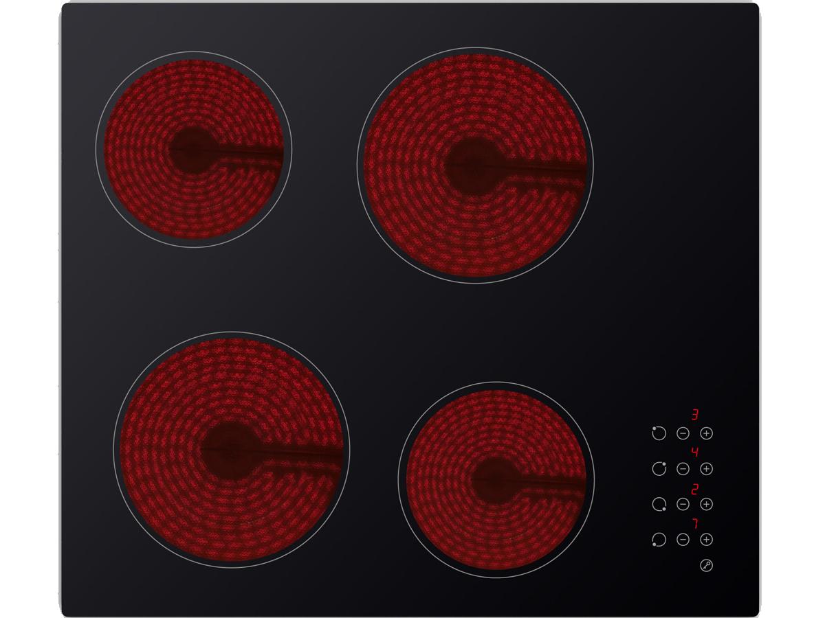 EVIDO VETRO 60CB cerán beépíthető kerámia főzőlap