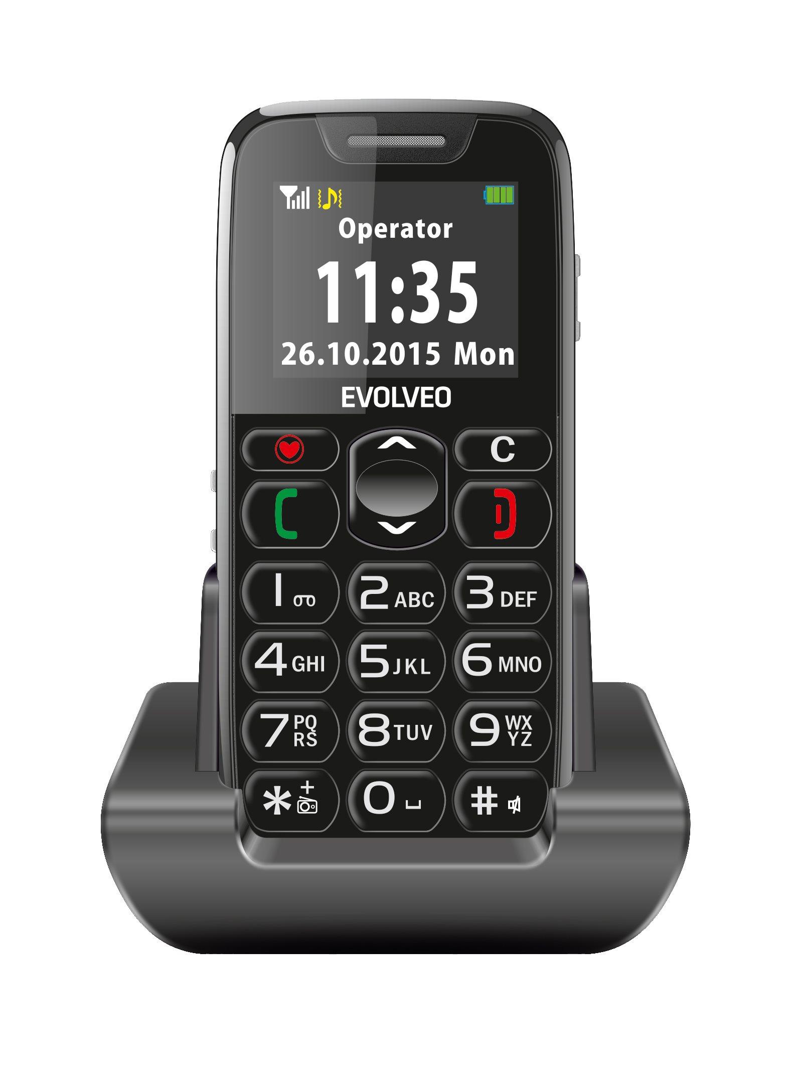 EVOLVEO EASYPHONE mobiltelefon időseknek