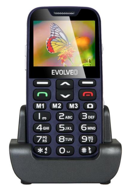 EVOLVEO EASYPHONE XD EP-600 Mobiltelefon, kék