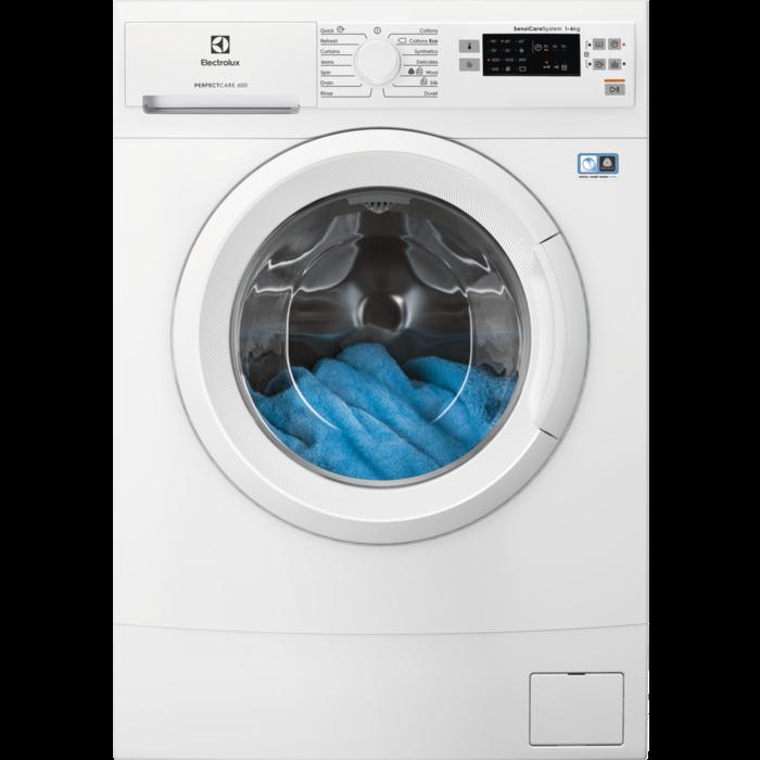 Electrolux EW6S526W PerfectCare 600 keskeny elöltöltős mosógép, 6 kg, 1200 f/p