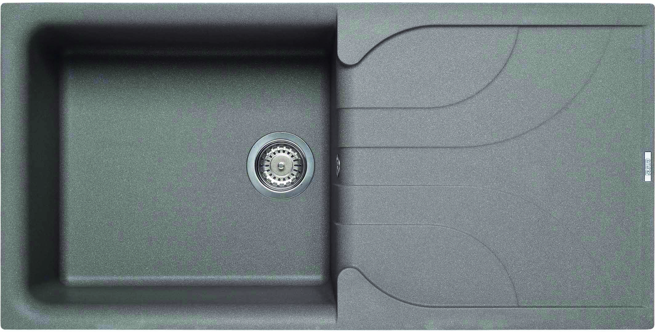 Elleci Ego 480 Kompozit Cemento egymedencés mosogató csepptálcával