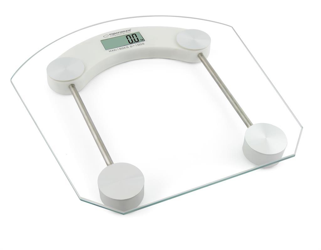 Esperanza Pilates fürdőszobai mérleg fehér EBS008W