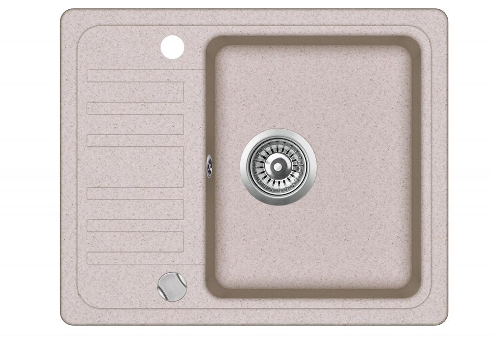 Evido 105550 Home 45S Compact gránit mosogatótálca, homok