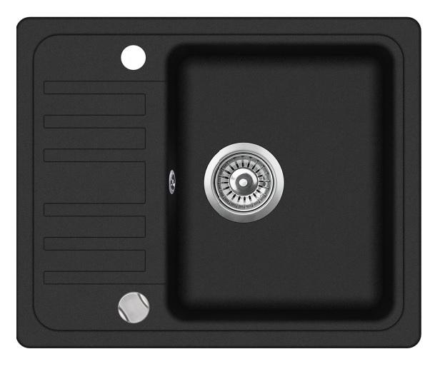 Evido 105551 Home 45S Compact gránit mosogatótálca, antracit