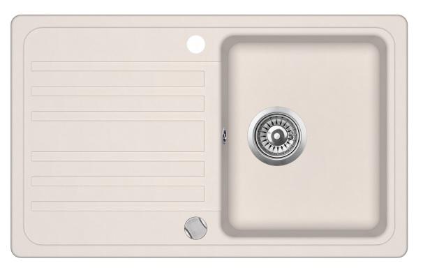 Evido 105546 Home 45S gránit mosogatótálca, bézs