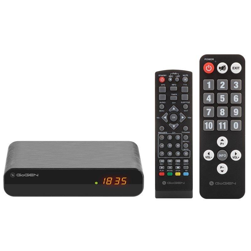 Gogen DVB 133 T2 SENIOR Set.Top Box