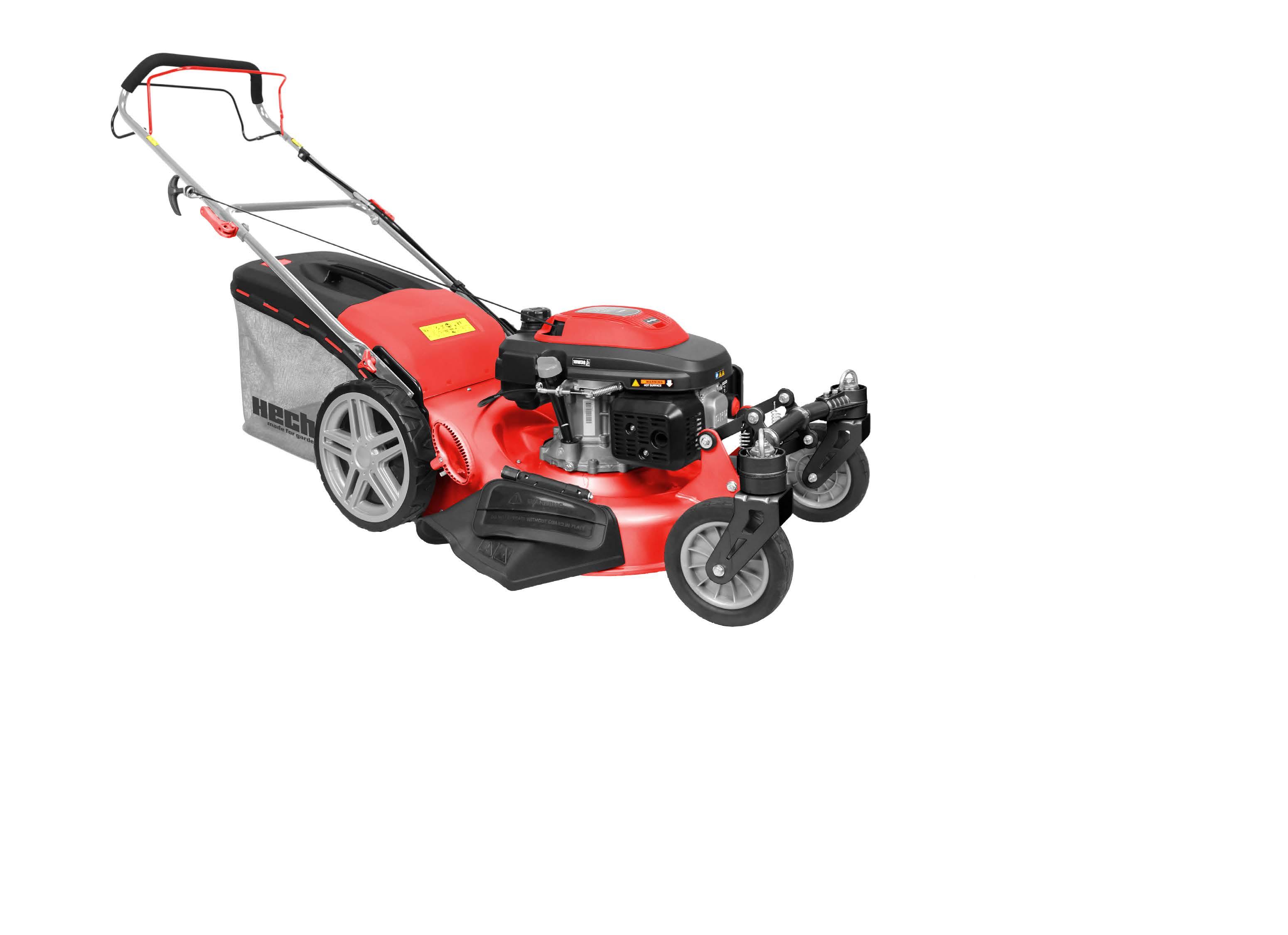 Hecht 551XR benzinmotoros önjáró fűnyíró