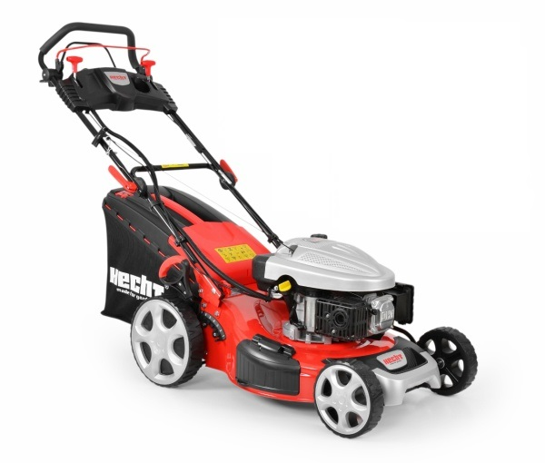 Hecht 5534 SWE 5 IN 1 Benzinmotoros 4 sebességes önjáró fűnyíró elektromos indítással
