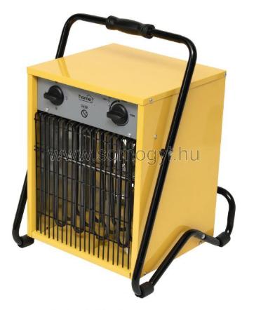 Home by Somogyi FKI 90 Ipari, ventilátoros fűtőtest