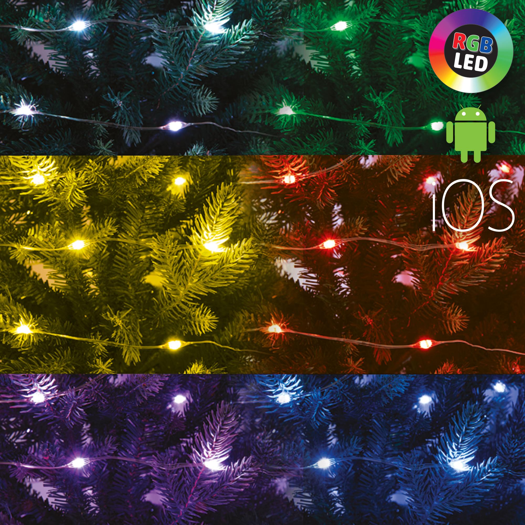 Home by Somogyi ML 200 RGB SMART Micro-LED-es SMART fényfüzér
