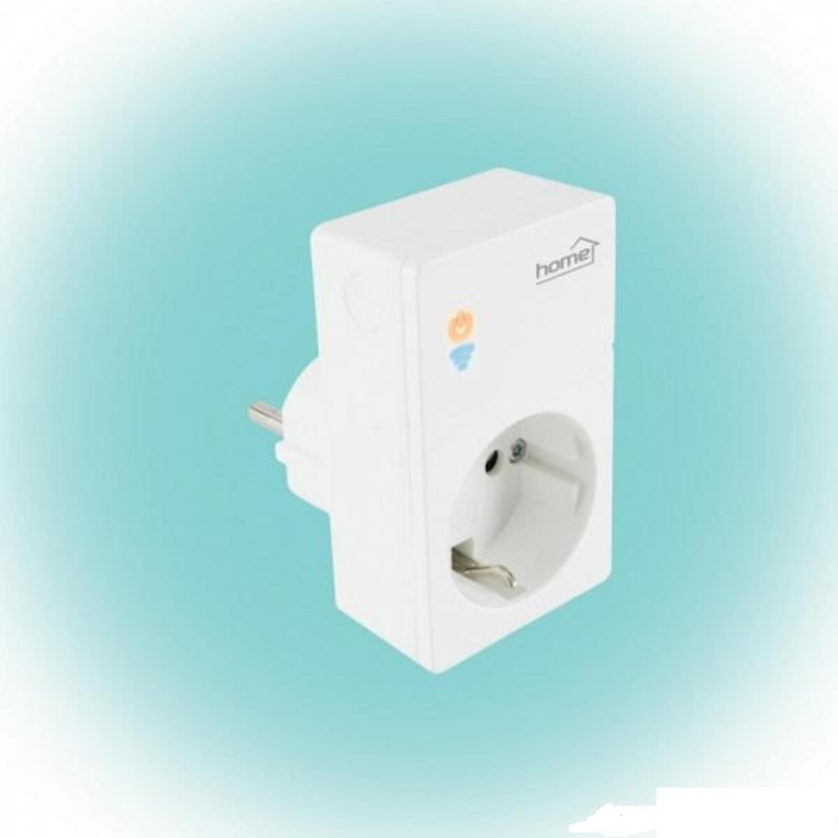 Home by Somogyi NVS 1 PRO SMART (WiFi) aljzat, fogyasztásmérős, fehér