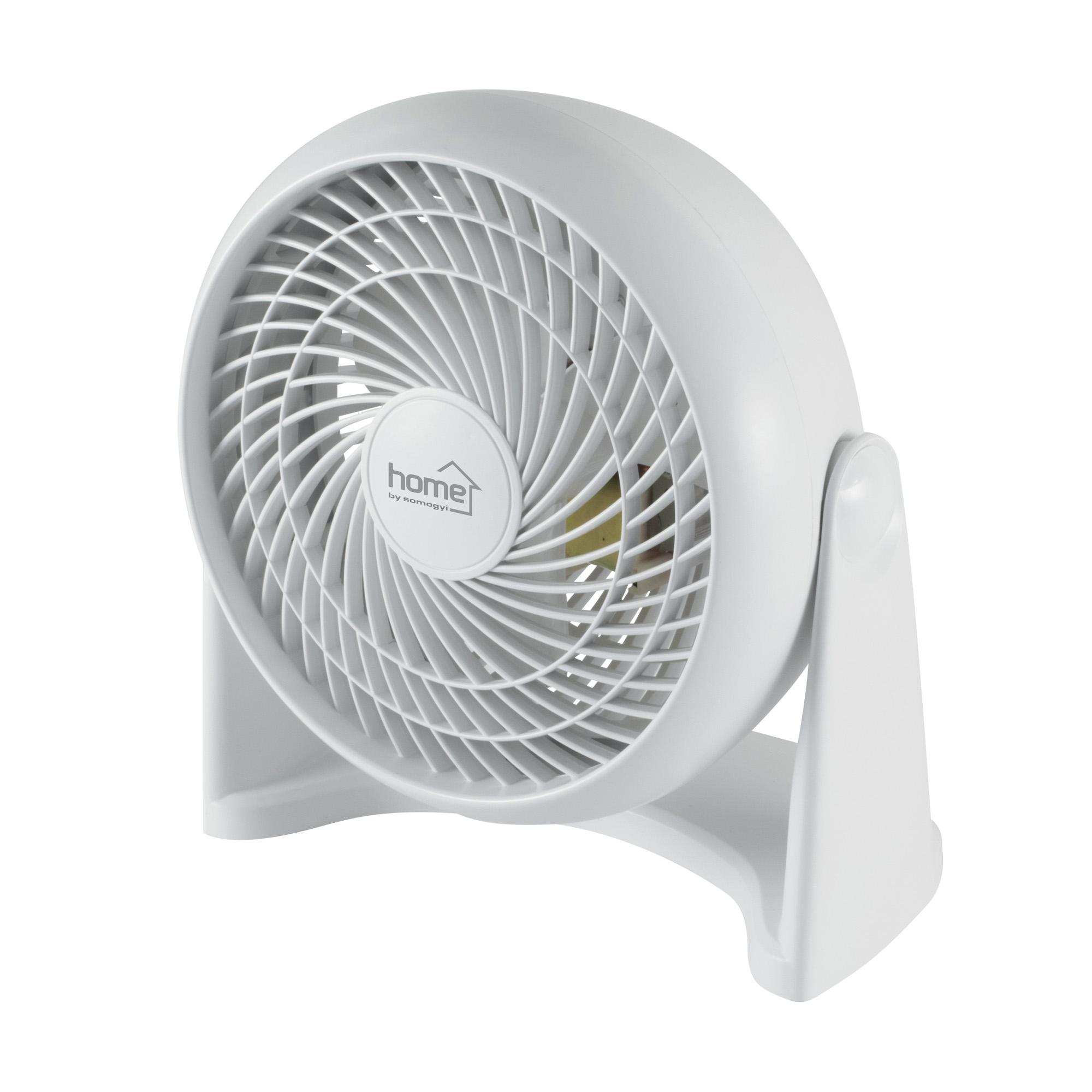 Home by Somogyi TF 23 TURBO asztali/fali ventilátor, 23cm, fehér