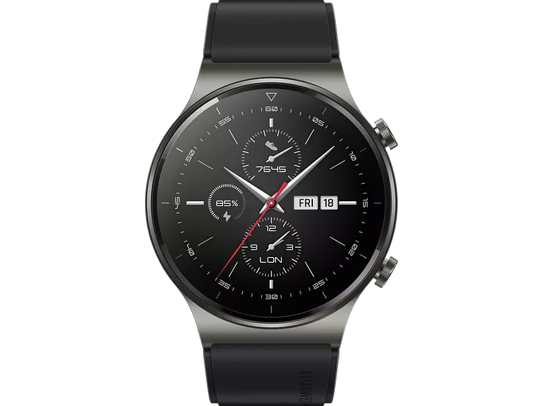 Huawei WATCH GT 2 PRO, NIGHT BLACK okosóra