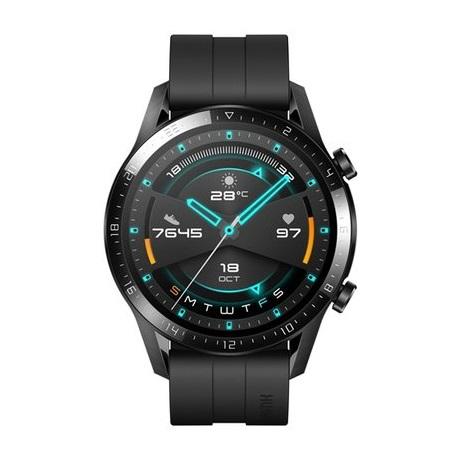 Huawei Watch GT 2 (46mm) okosóra, matt fekete