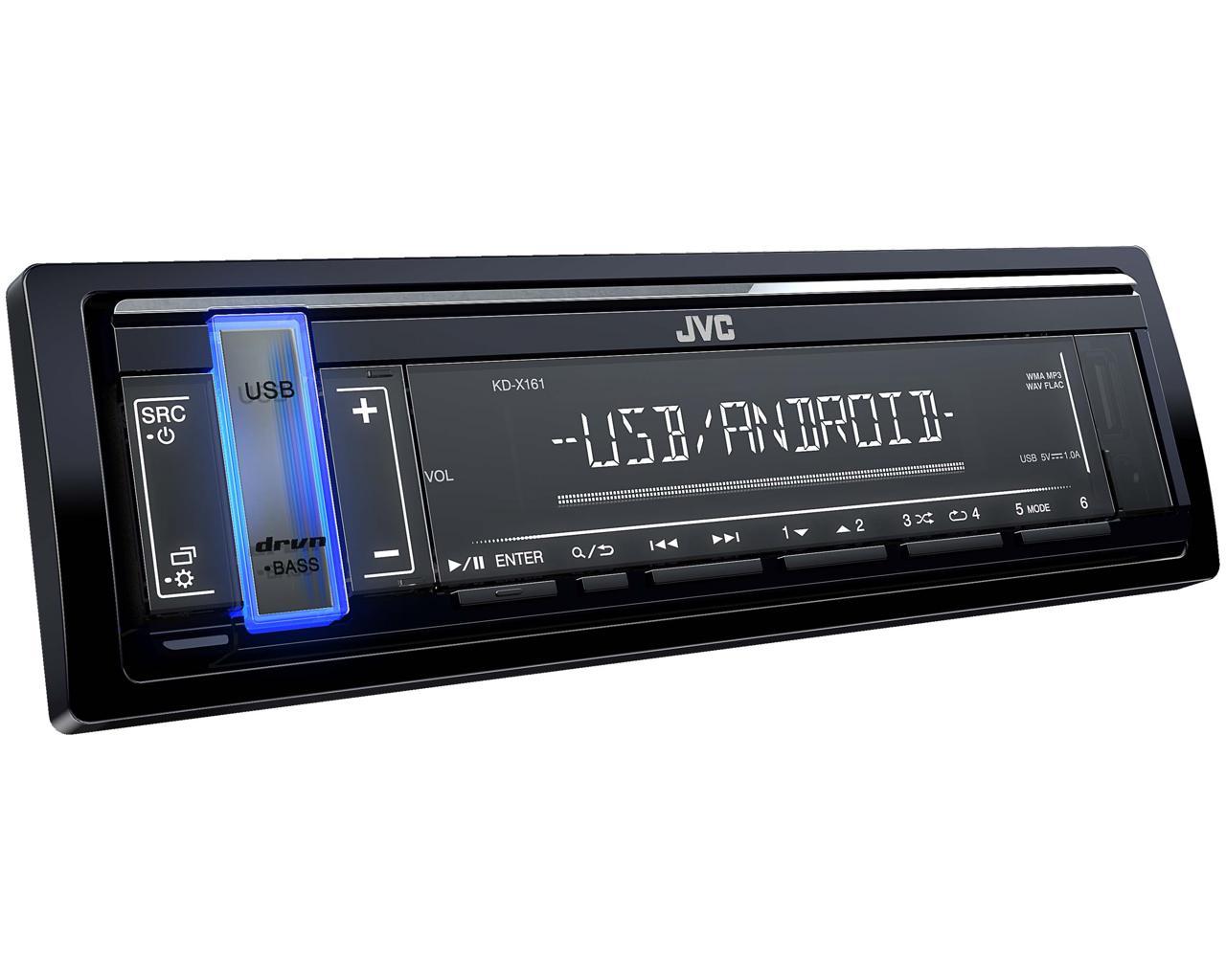 JVC KD-X161 autórádió