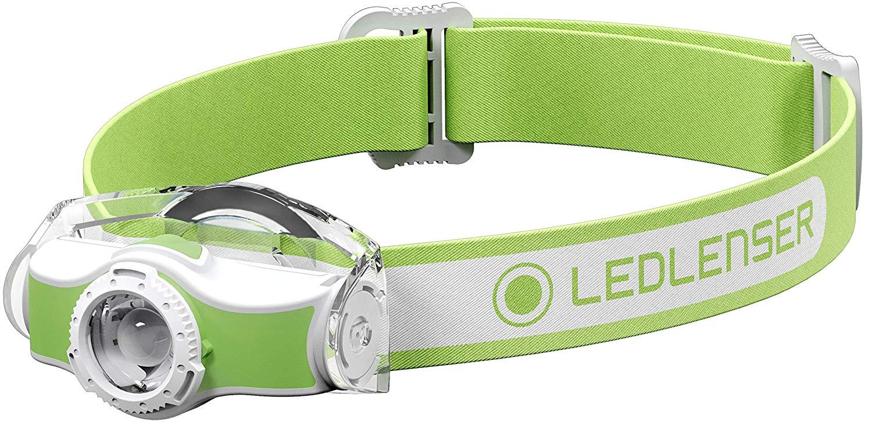 LEDLENSER MH3 outdoor LED fejlámpa, 200lm, 1xAA, zöld, (501593)