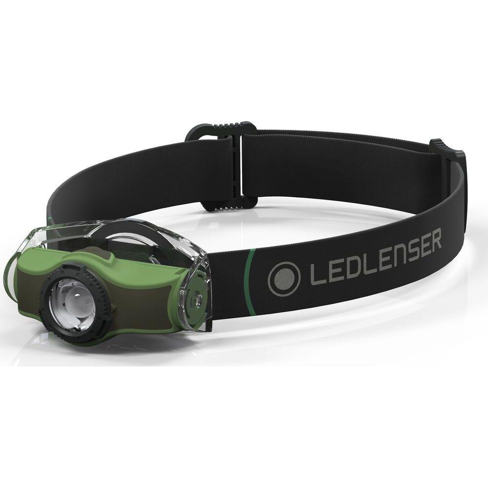 LEDLENSER MH4 outdoor LED fejlámpa, 200lm/130m, 1xAA, zöld (500949)