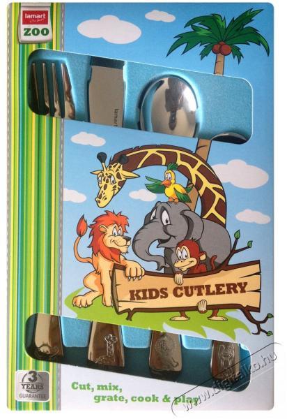 Lamart LT5005 Zoo gyermek evőeszköz-készlet