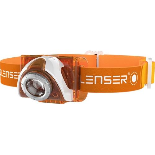 LedLenser 6004 SEO3 fejlámpa narancs 100lm