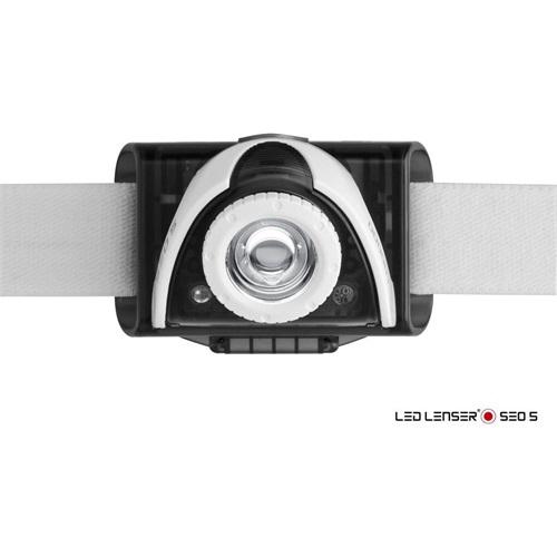 LedLenser 6105 SEO5 3xAAA 180 lm fejlámpa szürke