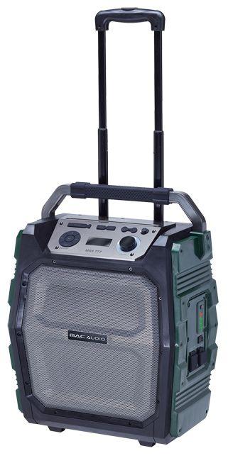 Mac Audio MRS 777 hordozható hangrendszer beépített akkumulátorral