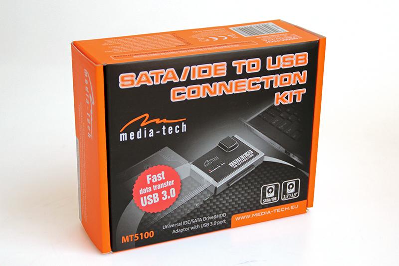Media-Tech MT5100 SATA/IDE USB átalakító