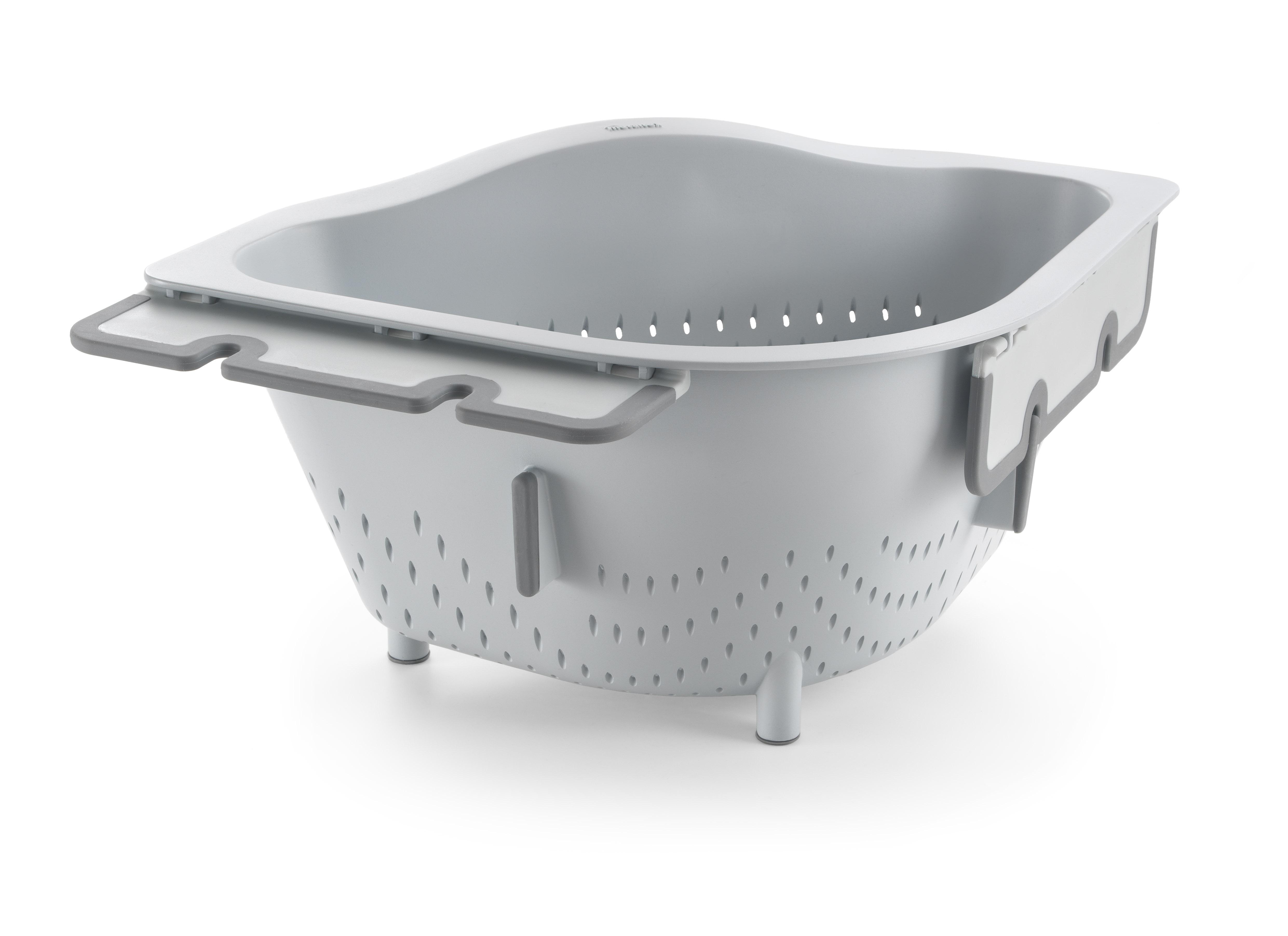 Metaltex MX185023 Drain-On szűrő/zöldségmosó tál