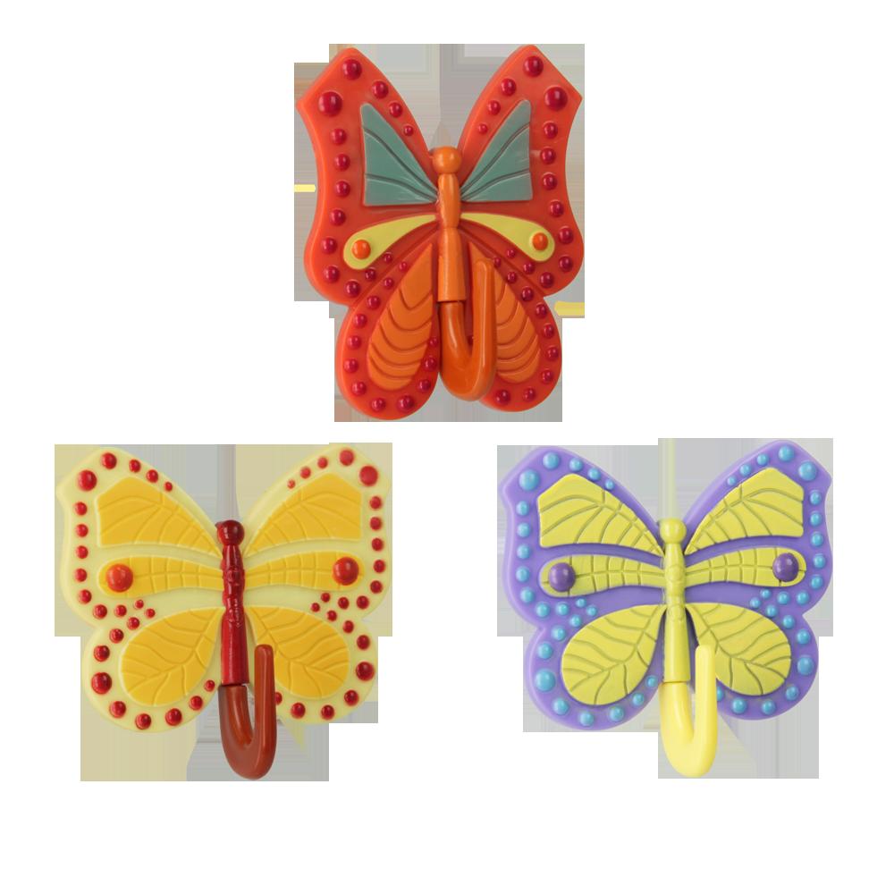Metaltex MX290570 Butterfly akasztó