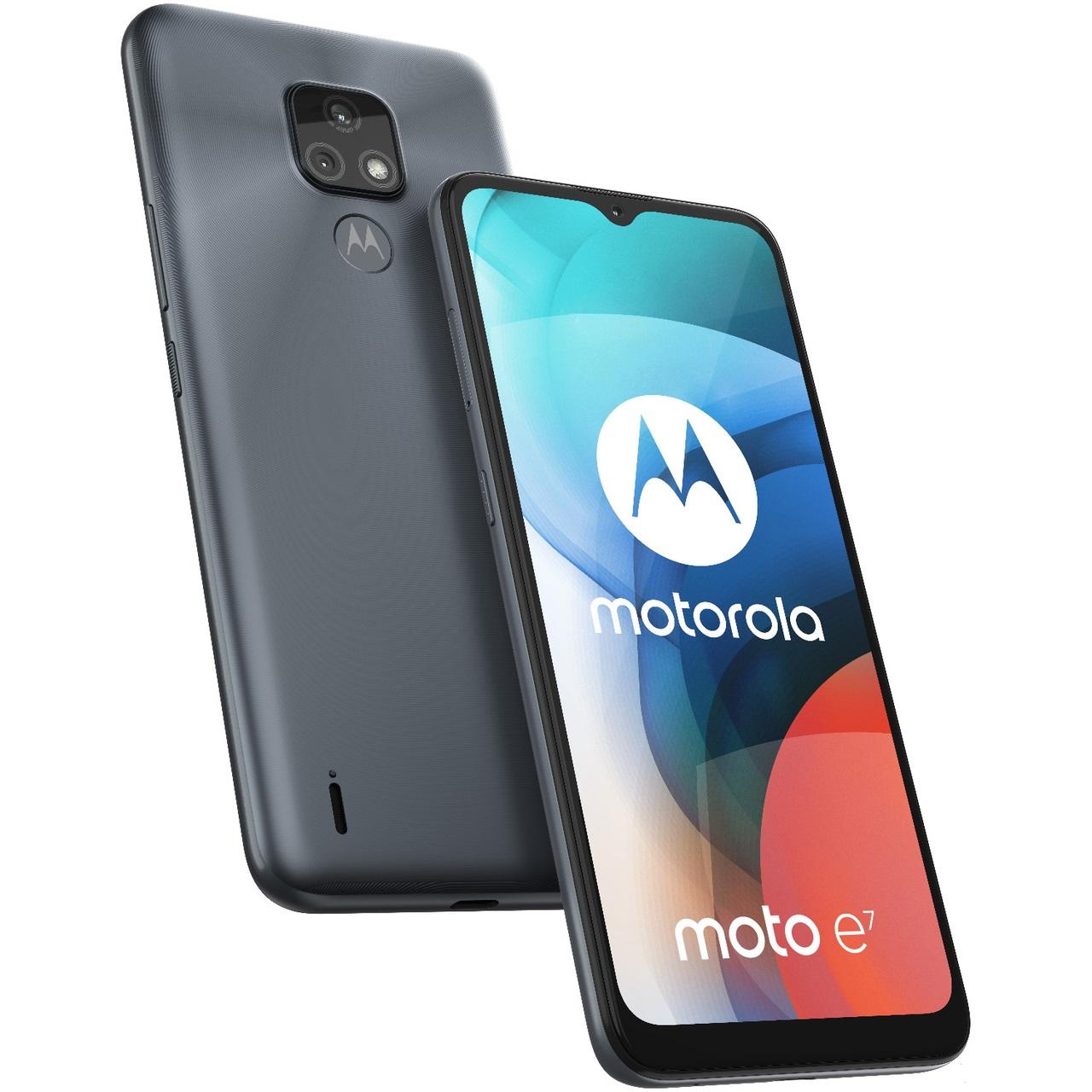 Motorola MOTO E7 DS, MINERAL GRAY mobiltelefon
