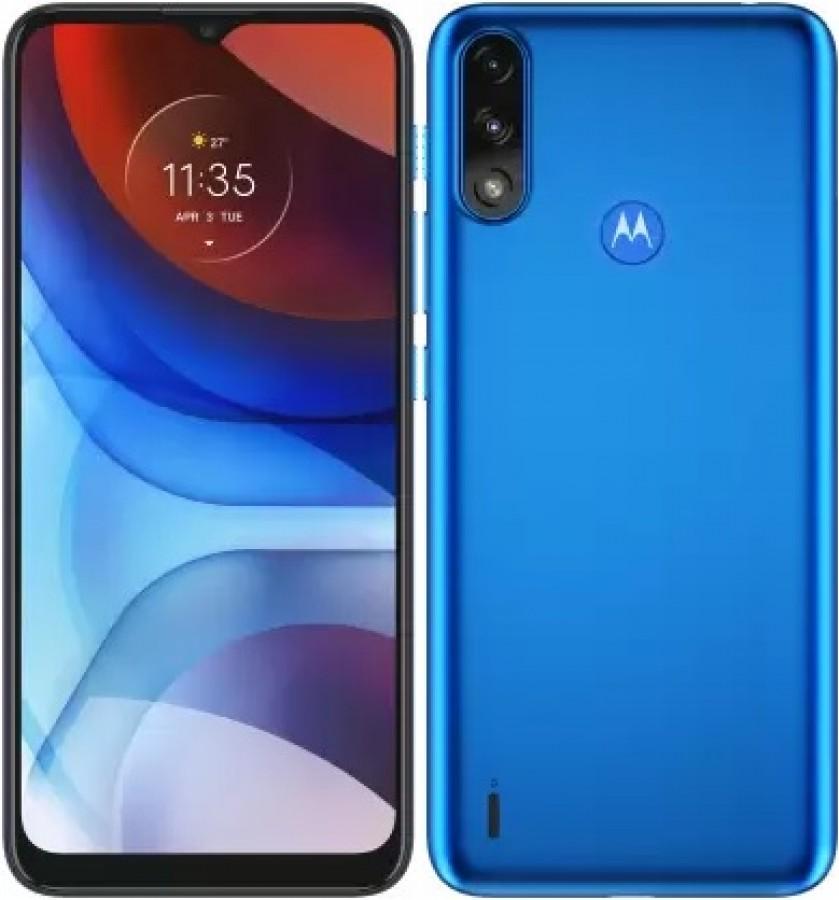 Motorola MOTO E7 POWER DS, DIGITAL BLUE mobiltelefon