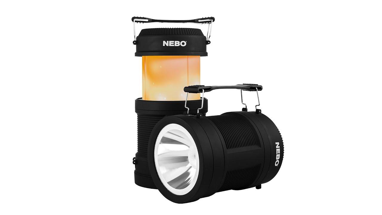 Nebo NE6908 Large Poppy RC reflektro és lámpás