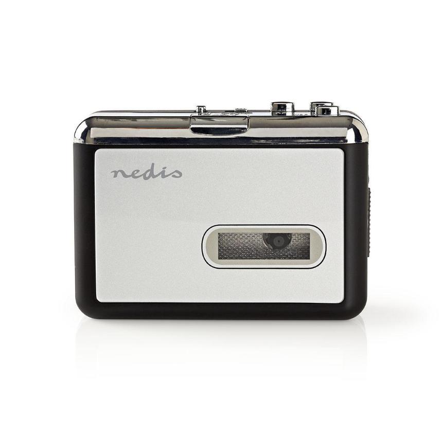 Nedis ACGRU100GY Hordozható USB Kazetta-MP3 Átalakító   USB-kábellel és Szoftverrel