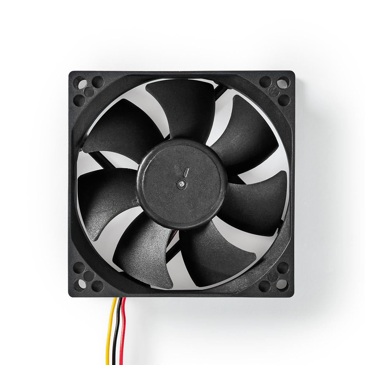 Nedis DCFAN8025BK számítógép hűtőventilátor