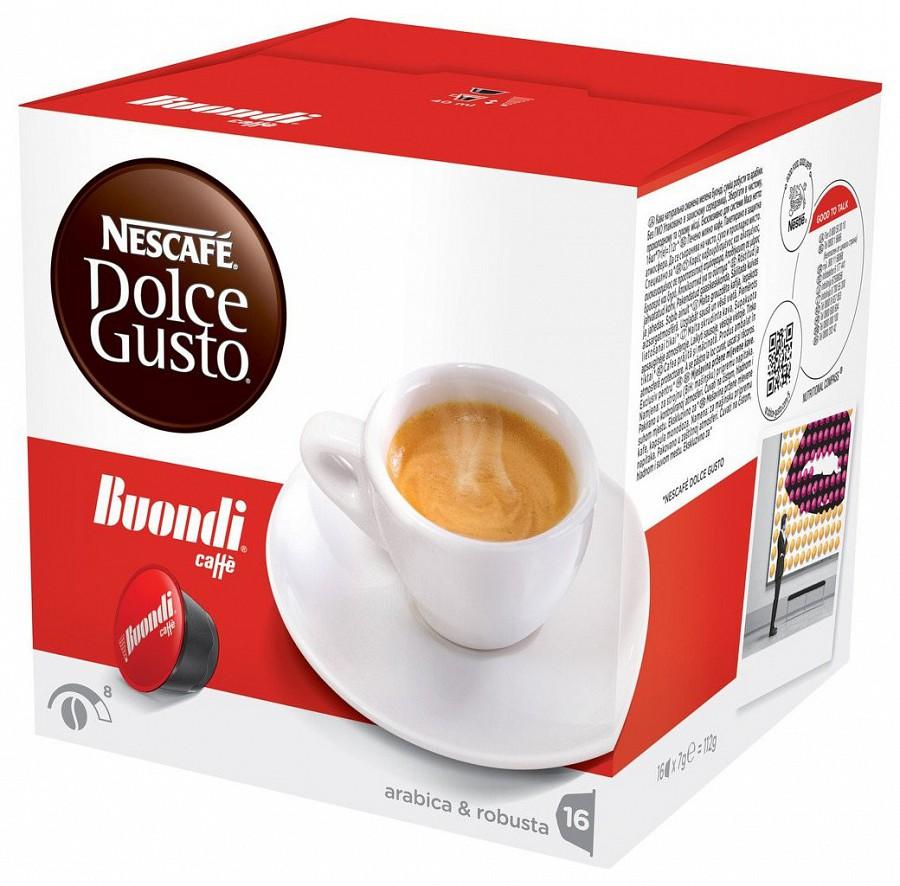 Nescafe BUONDI Dolce Gusto kapszula