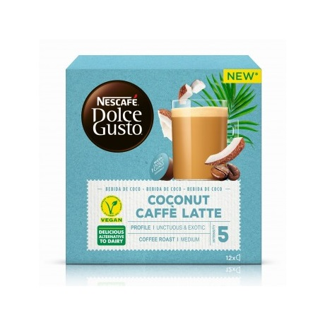 Nescafe COCONUT CAFFÉ LATTE Dolce Gusto kapszula