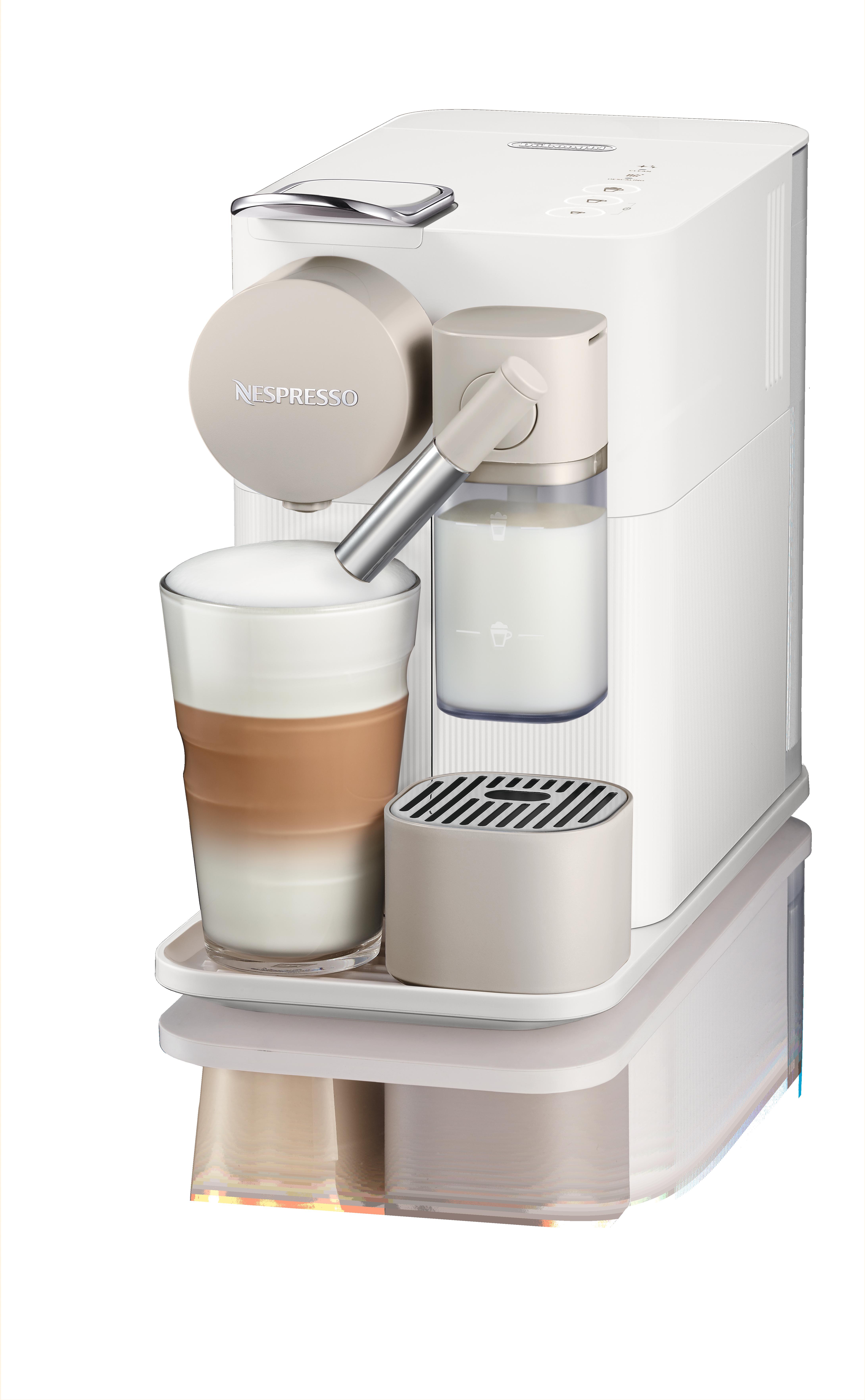 Nespresso® De`Longhi EN650.W Gran Lattissina kapszulás kávéfőző, fehér + kávékapszula-utalvány
