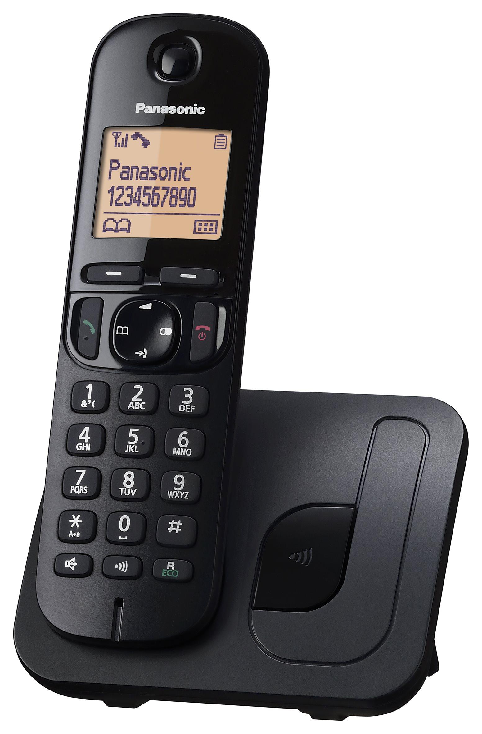 Panasonic KXTGC210PDB vezeték nélküli telefon