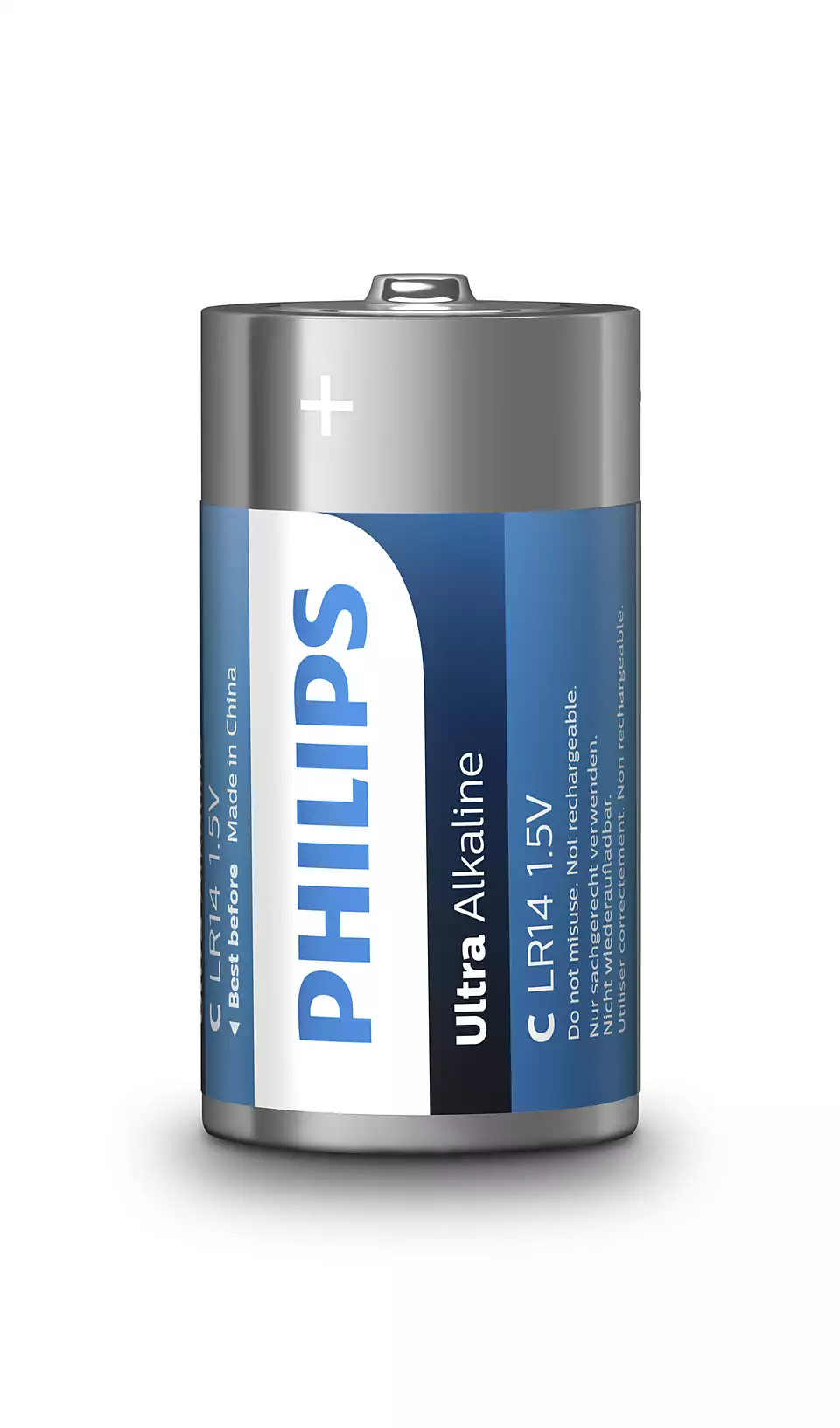 Philips LR14E2B/10 ultra alkaline elem