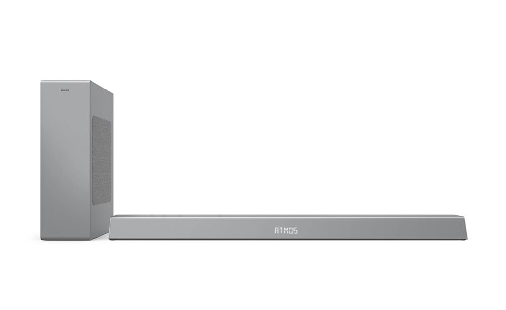 Philips TAB8505/10 2,1 csatornás soundbar, vezeték nélküli mélynyomóval