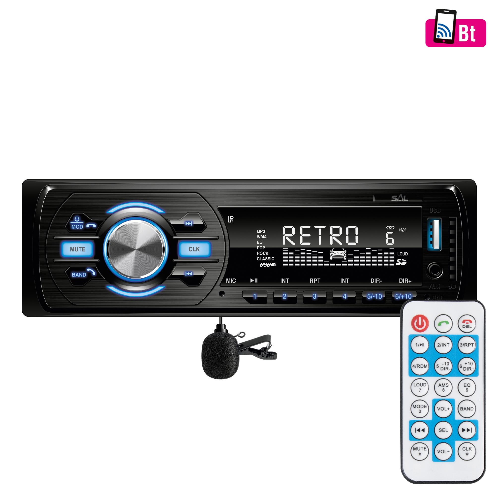 SAL VB 4000 autórádió és MP3/WMA lejátszó