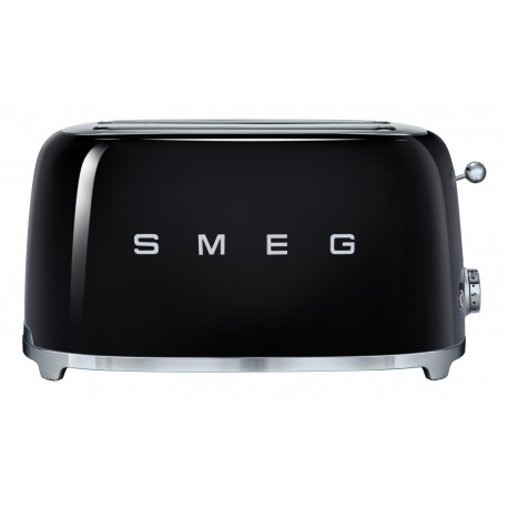 SMEG TSF02BLEU retro 4-szeletes kenyérpirító, fekete